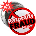 paternity fraud, buttons, paternity